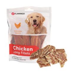 Chick'n Snack Fillet friandises pour chien Sachet Small morceaux Lg 4 cm
