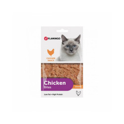Chick'n Snack pour chats Flamingo