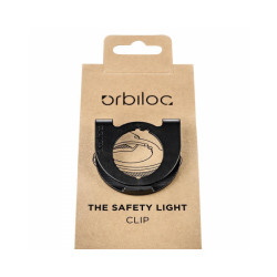 Clip de fixation pour lampe de sécurité Orbiloc Dog Dual