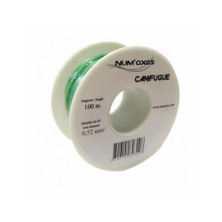 Bobine de fil 100 m x 0,52 mm² pour clôture antifugue
