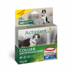 Collier antiparasitaire pour chien Essential Rouge 100% Biodégradable 60 cm