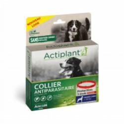 Collier antiparasitaire pour chien Essential Rouge 100% Biodégradable 75 cm