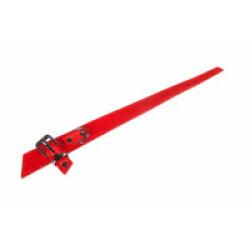 Collier Bowtie pour chien Flamingo Rouge Long 50 cm larg 3 cm