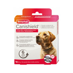Collier Canishield à la deltaméthrine - Grands chiens (2 colliers)