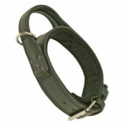 Collier cuir pour chien d'intervention T1
