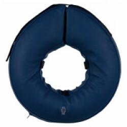Collier de protection gonflable bleu Trixie pour chien