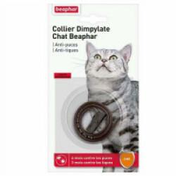 Collier Dimpylate, anti-puces et tiques pour chat - Marron