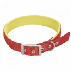 Collier droit rouge en nylon pour chien Chapuis Sellerie