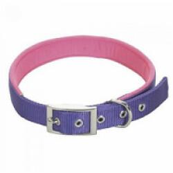 Collier droit violet en nylon pour chien Chapuis Sellerie