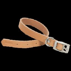 Collier en cuir naturel pour chien Chapuis Sellerie