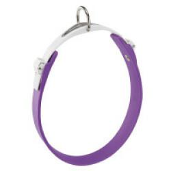 Collier Ergoflex C violet à micro-régulation pour chien