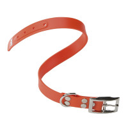 Collier Ergoflex CF orange à micro-régulation pour chien