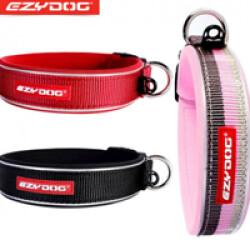 Collier Ezydog Néo-Classic pour chien T1 Rouge