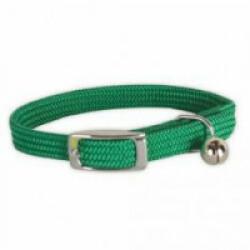 Collier nylon élastique vert pour chat