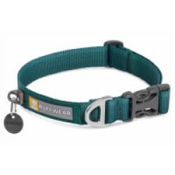 Collier pour chien en tissu doux Front Range™ Tumalo Teal 28 - 36 cm
