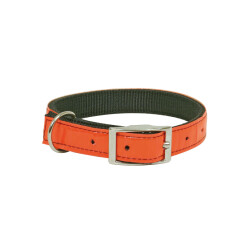 Collier rétro-réfléchissant pour chien - coloris orange T45