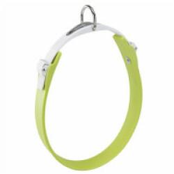 Collier vert pour chien à micro-régulation Ergoflex C Longueur 51 cm / Largeur 28 mm