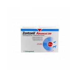 Zentonil Advanced Compléments alimentaires troubles hépatiques pour chiens 200 mg