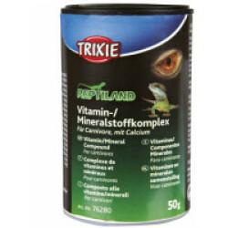 Complexe de vitamines/minéraux pour reptiles carnivores Trixie - 50 g