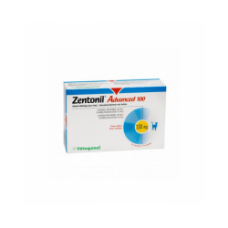 Zentonil Advanced Compléments alimentaires troubles hépatiques pour chiens 100 mg
