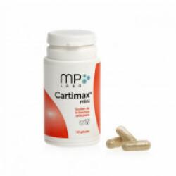 Compléments alimentaires chiens et chats pour articulations Cartimax Mini - Pilulier 50 Gelules