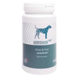 Complément alimentaire Versikor 500 pour chien et chat atteints de pathologies chroniques - 180 comprimés