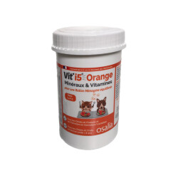 Complément alimentaire VIT'I5 Orange pour chien et chat adulte - Boîte de 250g