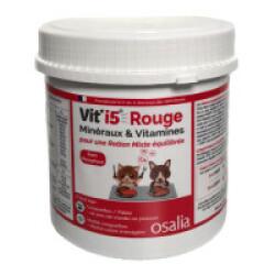 Complément alimentaire VITI'5 Rouge pour chien et chat - Boîte de 600g