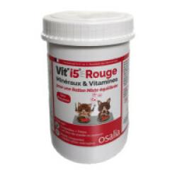 Complément alimentaire VITI'5 Rouge pour chien et chat - Boîte de 250g
