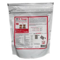 Complément alimentaire VITI'5 Rouge pour chien et chat - Ecorecharge de 600g