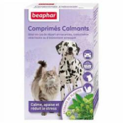 Comprimés calmants à base de plantes pour chien et chat Beaphar - 20 cps