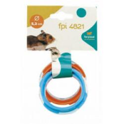Connexion plastique pour cages hamster Ferplast joint tube FPI 4821
