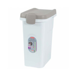 Container hermétique en plastique pour croquettes