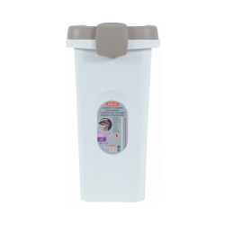 Conteneur à croquettes hermétique en plastique 15 Litres