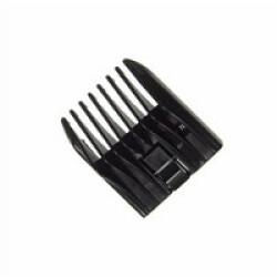 Contre-peigne Vario pour tondeuses Moser Rex, Fox, 1400, Arco - longueur 4-18mm noir
