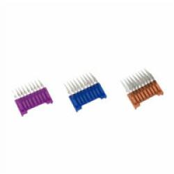 Jeu de contre peignes en acier pour tondeuses Moser 1400, Rex, Arco - Lot de 6mm, 10mm et 13mm
