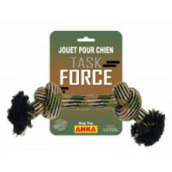 Corde à nœud en coton Task Force