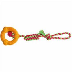 Corde de jeu avec anneau Trixie pour chien