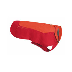 Coupe-vent pour chien Vert™ Ruffwear rouge XXS
