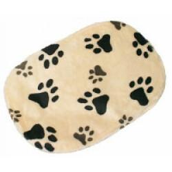 Coussin beige avec motifs Joey Trixie pour chiens