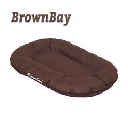 Coussin BrownBay pour très grand chien T80 (80 x 60 cm) brun