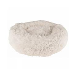 Coussin doux rond Krems Flamingo pour chien - diamètre 50 cm Coloris Blanc