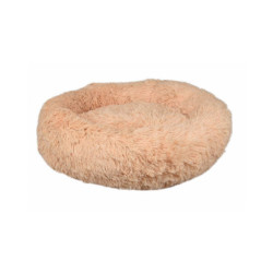 Coussin pour chien doux rond Krems Flamingo - diamètre 50 cm Coloris Crème