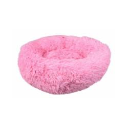 Coussin pour chien doux rond Krems Flamingo - diamètre 50 cm Coloris Rose