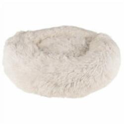 Coussin pour chien doux rond Krems Flamingo - diamètre 50 cm Coloris Blanc
