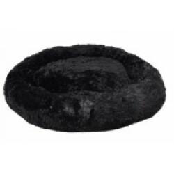 Coussin pour chien doux rond Krems Flamingo - diamètre 90 cm Coloris Noir