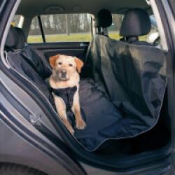 Couverture de protection noire pour voiture Longueur 160 cm x Largeur 145 cm Trixie