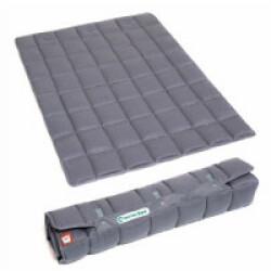 Couverture portable grise pour chien Doctor Bark Longueur 100 cm x largeur 70 cm