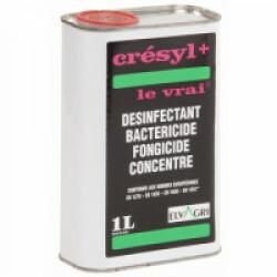 Crésyl bactéricide fongicide 1 Litre pour poulaillers ou niches