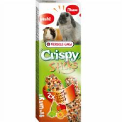 Crispy Sticks aux fruits Versele Laga pour lapins et cobayes